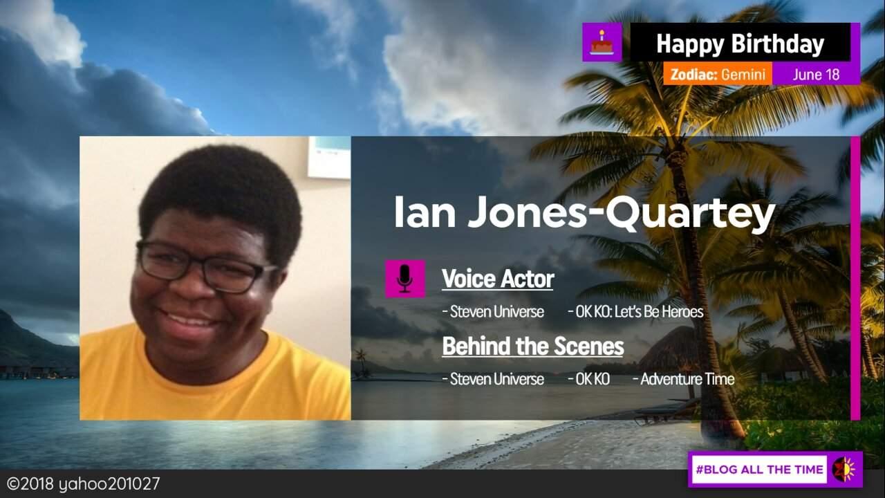 Ian Jones-Quartey 34th birthday timeline
