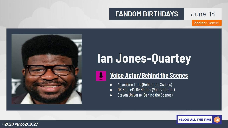 Ian Jones-Quartey 36th birthday timeline